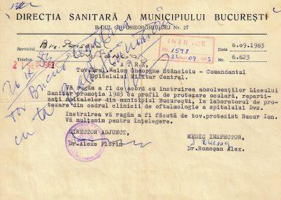 Ion Bucur - formatorul primei generatii de protezisti